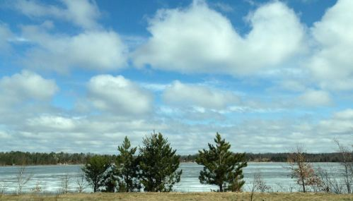 Lake in Trego, Wis. (image)
