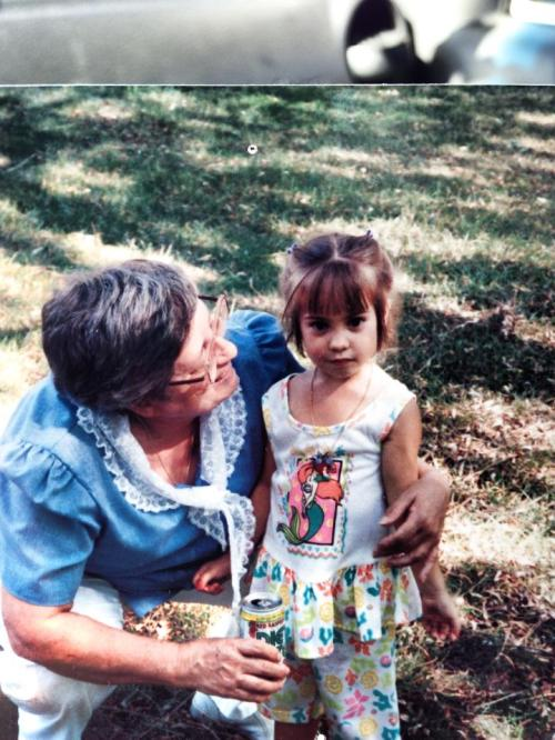 Gram and me (image)
